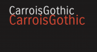 CarroisGothic