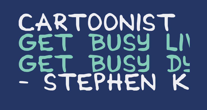 Cartoonist Simple