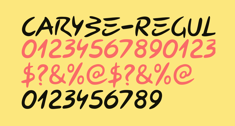 Carybe-Regular
