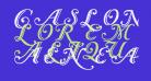 Caslon Calligraphic Initials