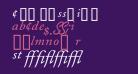 CaslonProSSK Italic