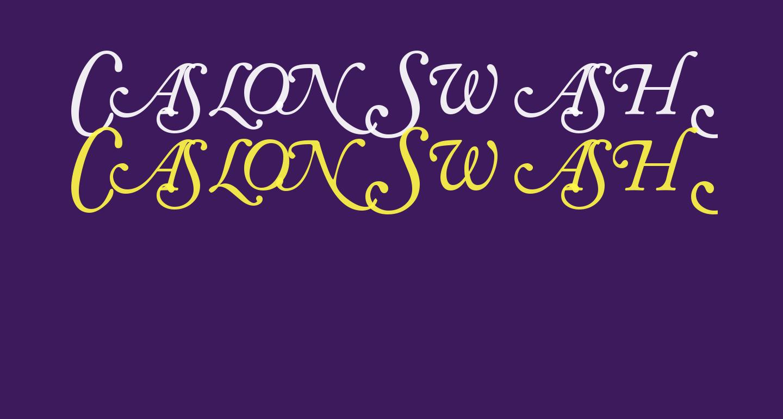 CaslonSwashSCapsSSK Italic