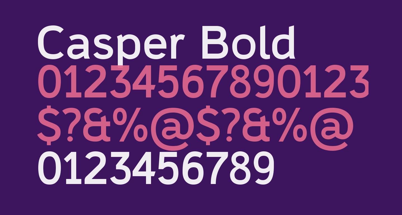 Casper Bold