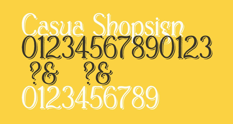 Casua_Shopsign