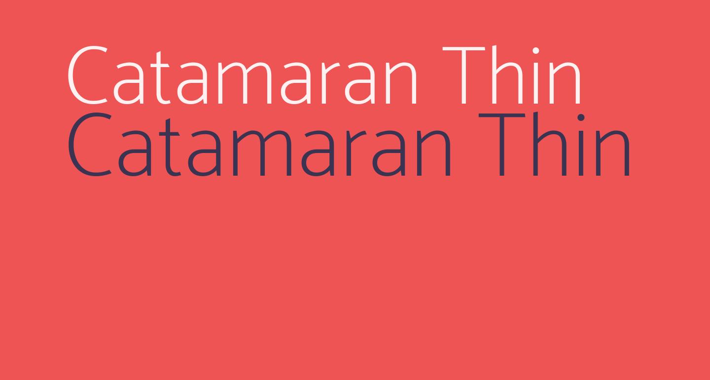 Catamaran Thin