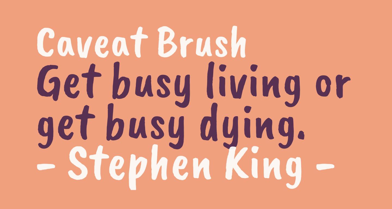 Caveat Brush