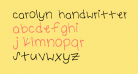 carolyn handwritten Medium
