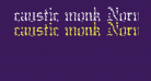 caustic monk Normal