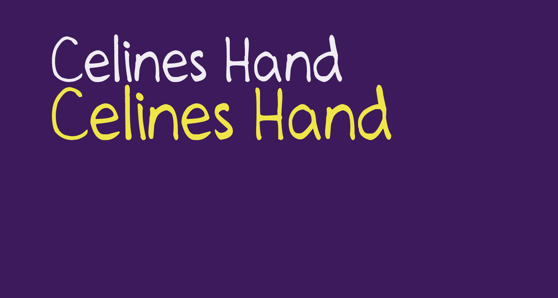 Celines Hand