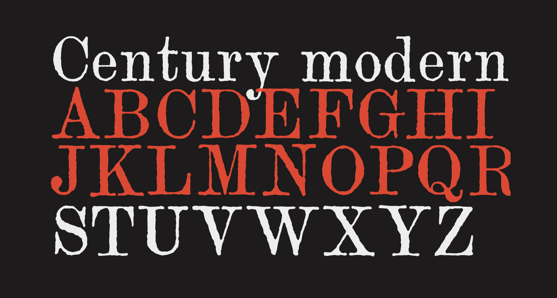 Century modern TT Regular