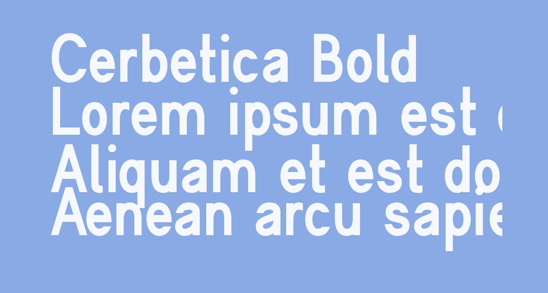 Cerbetica Bold
