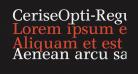 CeriseOpti-Regular