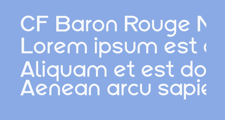 CF Baron Rouge Normal