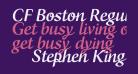 CF Boston Regular