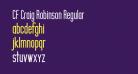 CF Craig Robinson Regular