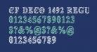 CF Deco 1492 Regular