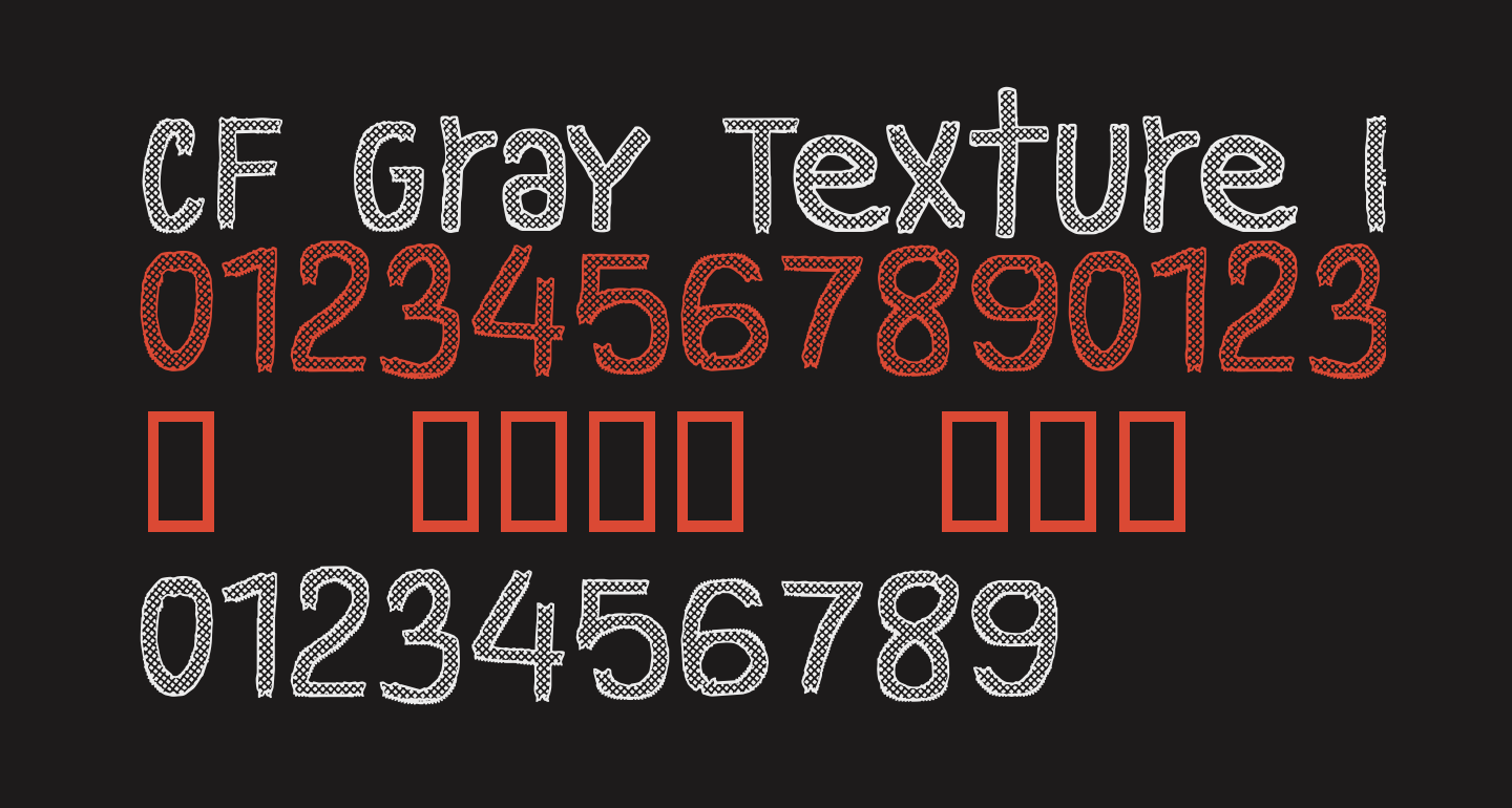 CF Gray Texture Regular