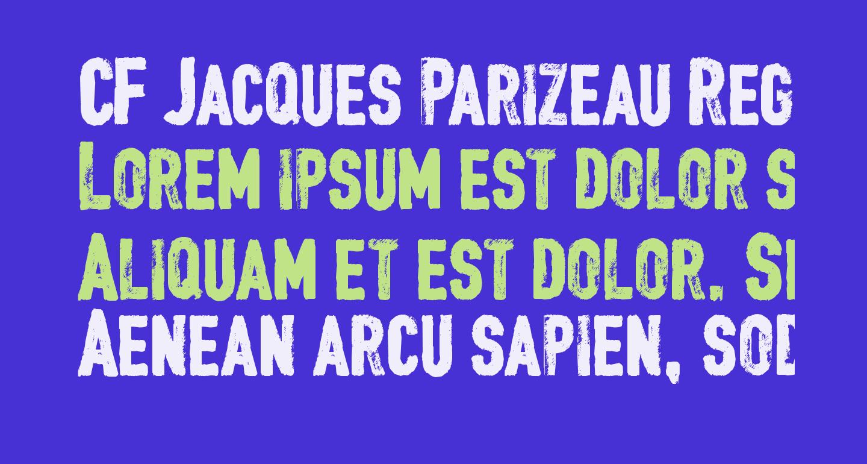 CF Jacques Parizeau Regular