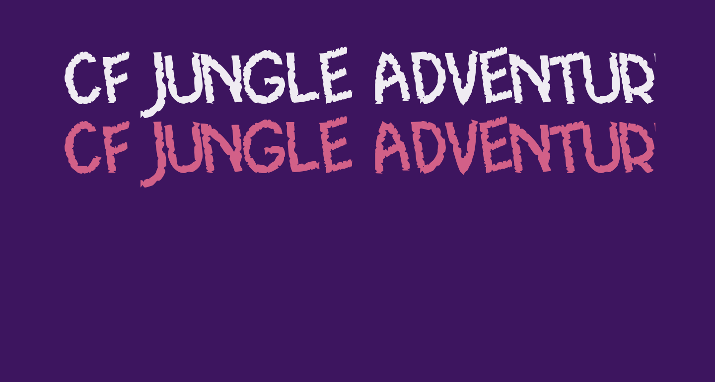 CF Jungle Adventure Regular