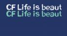 CF Life is beautiful Regular