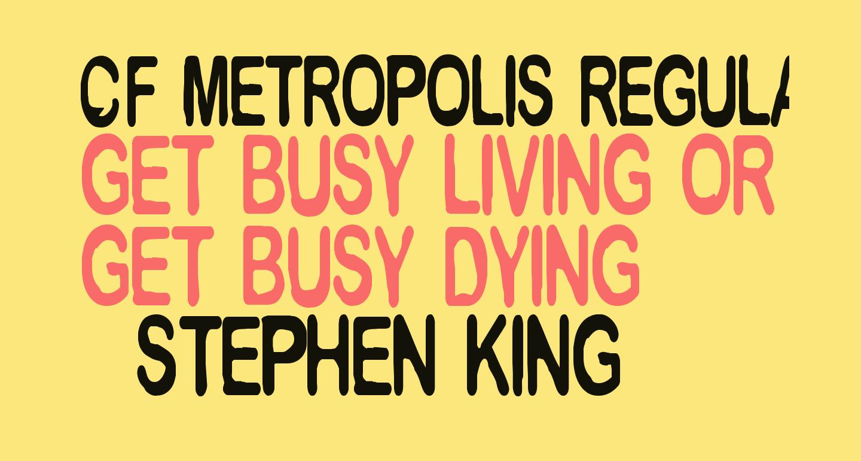 CF Metropolis Regular