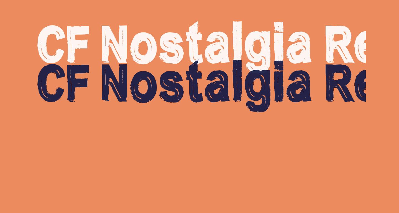 CF Nostalgia Regular