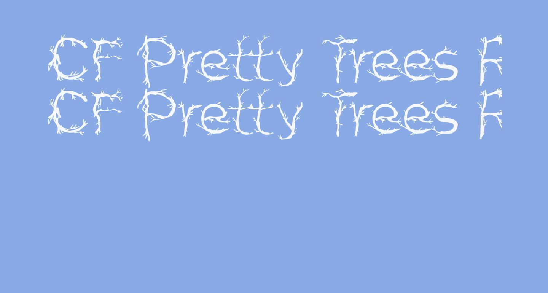 CF Pretty Trees Regular