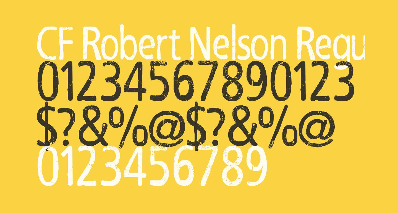 CF Robert Nelson Regular