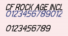 CF Rock Age Inclined
