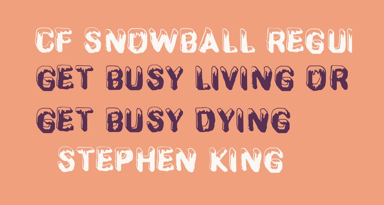 CF SnowBall Regular