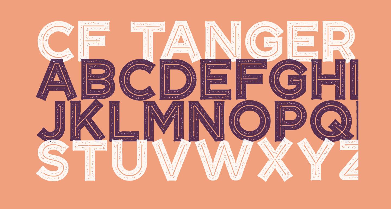 CF Tangerine Grunge Regular
