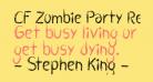 CF Zombie Party Regular