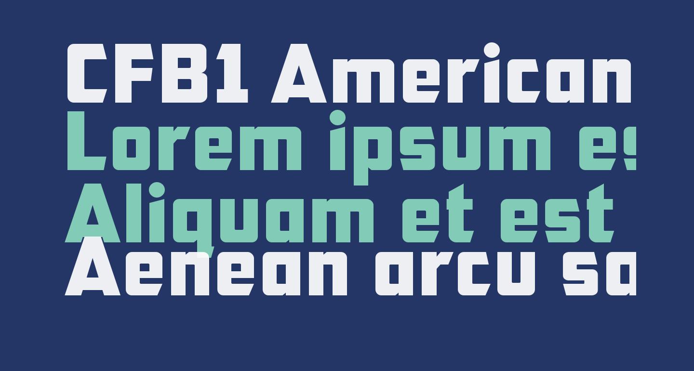 CFB1 American Patriot Normal