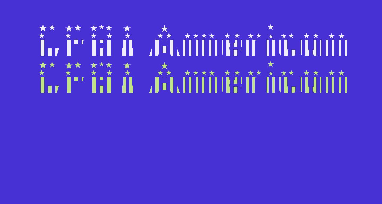 CFB1 American Patriot SPANGLE 2 Bold