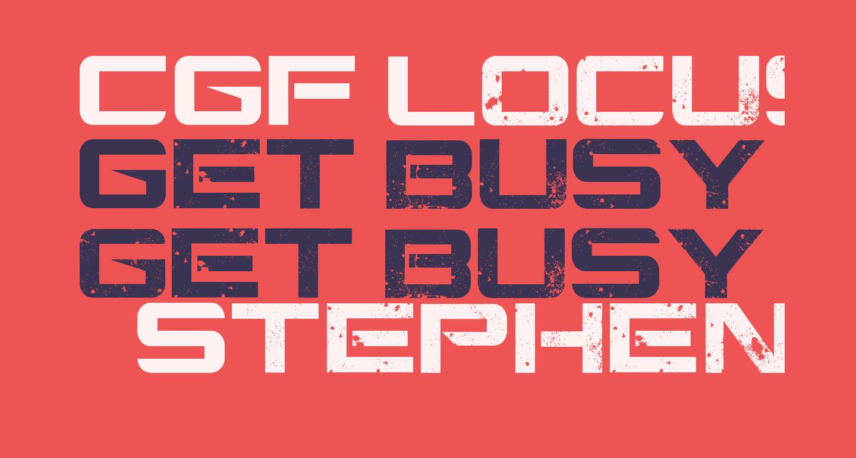 CGF Locust Resistance