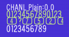 CHANL Plain:0.0
