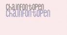 ChainFontOpen