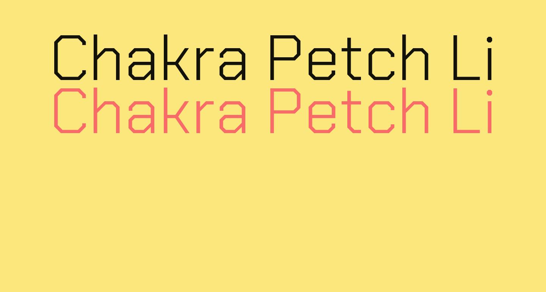 Chakra Petch Light