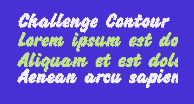 Challenge Contour