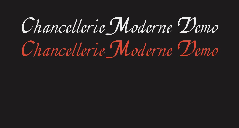 Chancellerie Moderne Demo