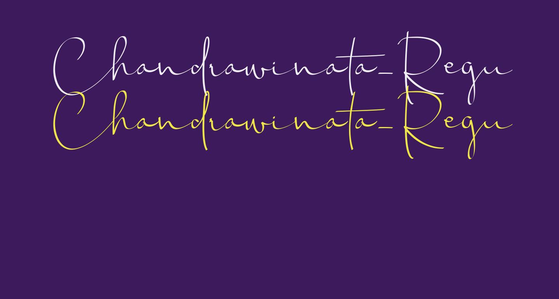 Chandrawinata-Regular