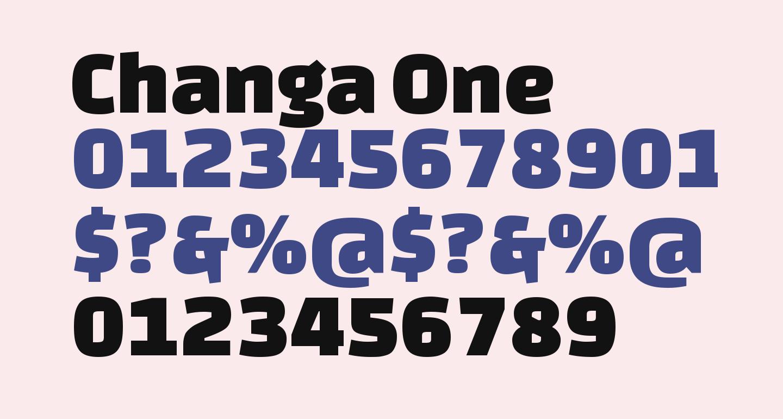 Changa One