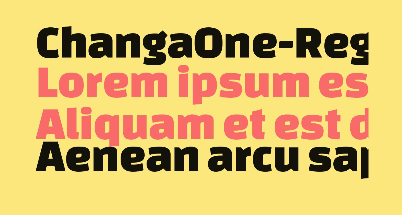 ChangaOne-Regular