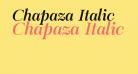 Chapaza Italic