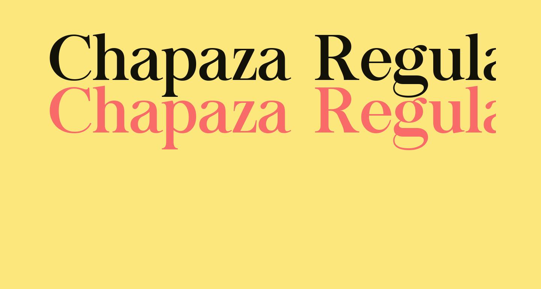 Chapaza Regular