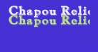 Chapou Relief Tryout