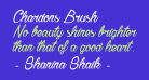 Chardons Brush