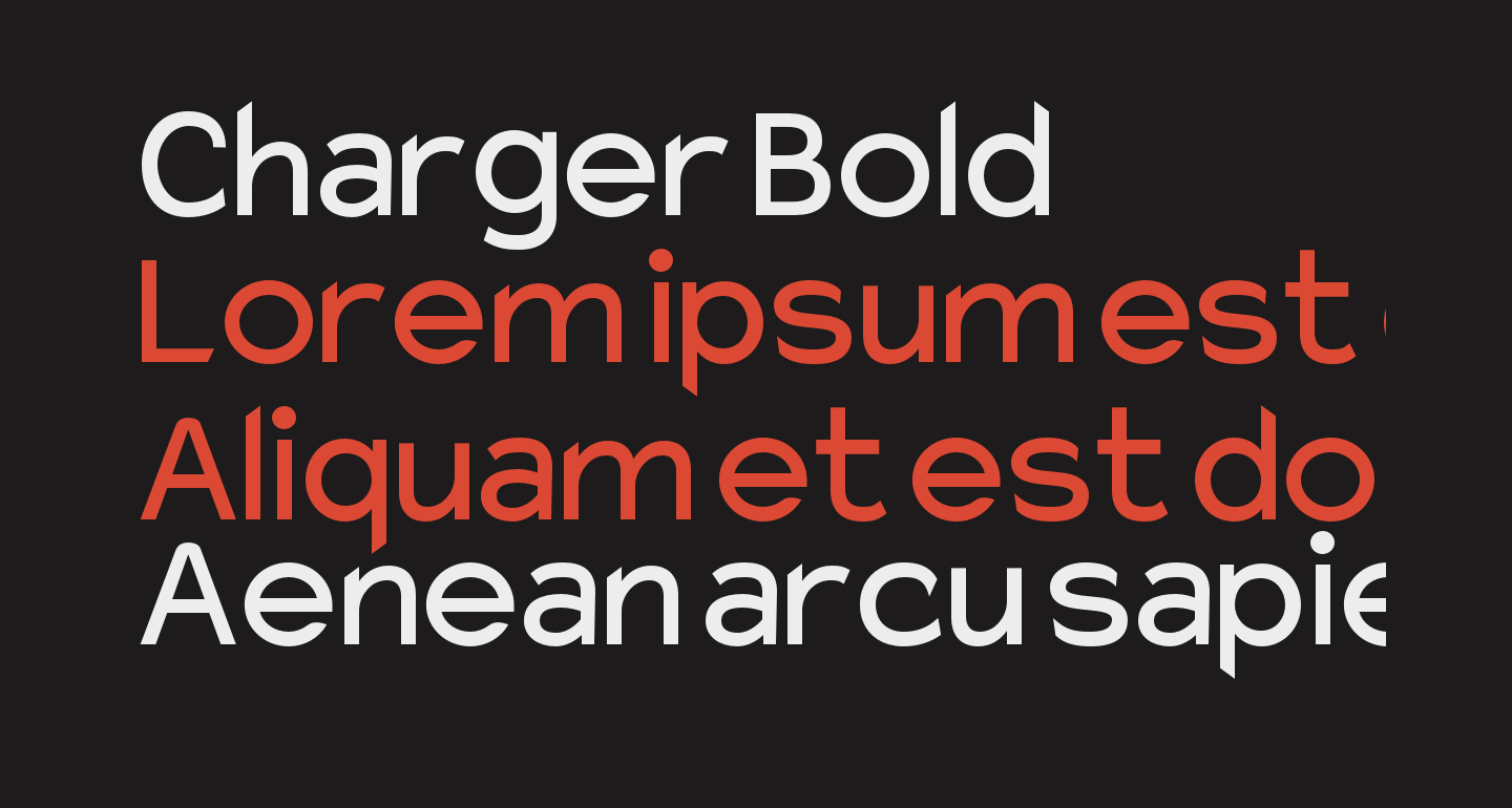 Charger Bold
