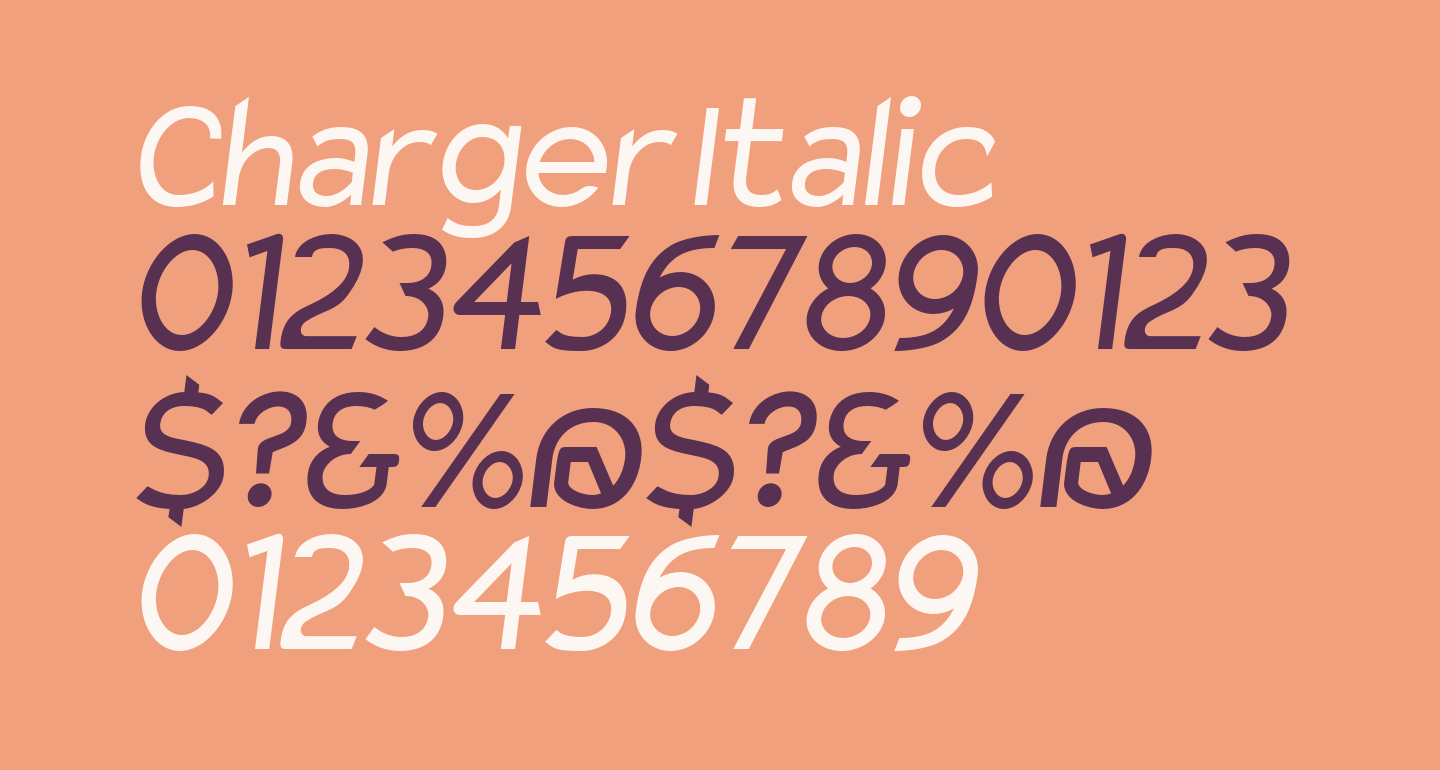 Charger Italic