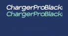 Charger Pro Black Extended Oblique